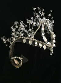 Tiara and Headpieces Level 1 Course Kit: Snow Queen Tiara with Czech Chain Rhinestones