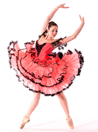 Dance Dresses Course Kit: Spanish Tiered Skirt