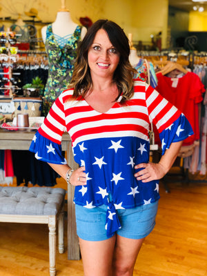 Sweet Land of Liberty Top