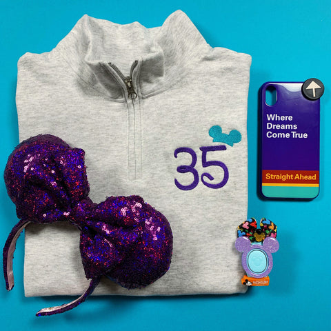 Birthday Pullover CUSTOMIZABLE
