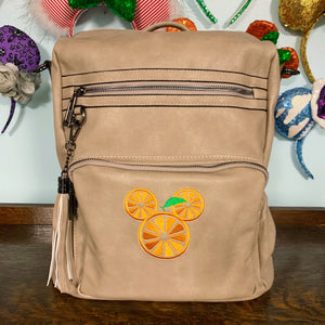 Orange Mouse Backpack