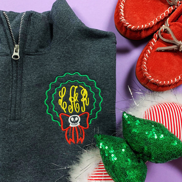 Scary Wreath Pullover/Tee/Tank