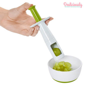 FruitShot™ Multifunctional Grape Slicer