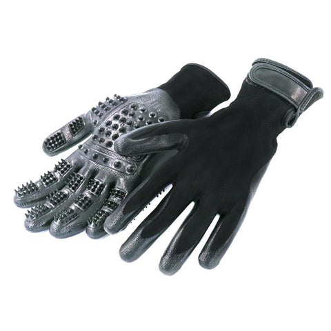Ultimate Grooming Gloves (For Cats, Dogs & Horses) - 1 pair