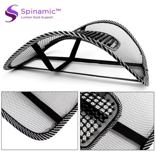 Spinamic™ Lumbar Back Support Cushion