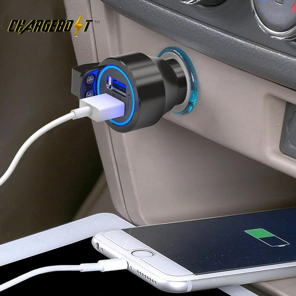 ChargeBolt™ Emergency Escape USB Car Charger
