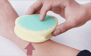 The Step 2 : The Hair Removal Buffer Pad