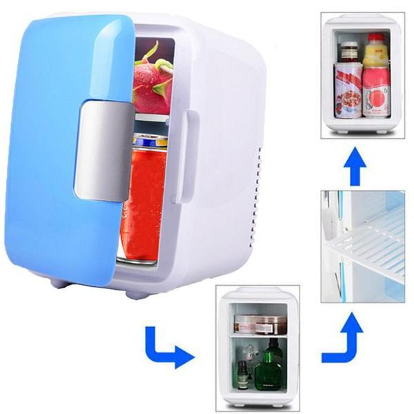 2-in-1 Mini Car Fridge