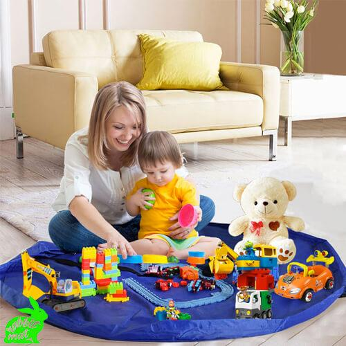 RabbitMat™ Portable Toy Storage Mat
