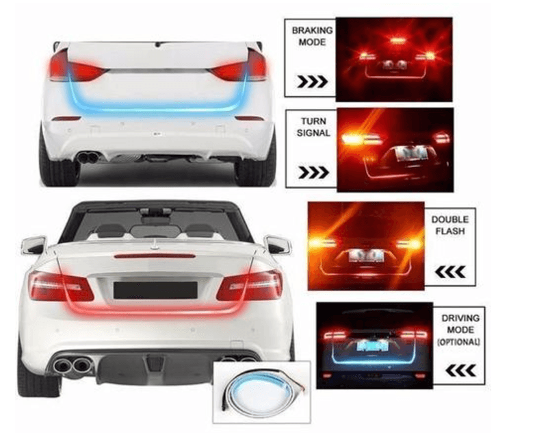 Universal Flow Led Strip Trunk Light