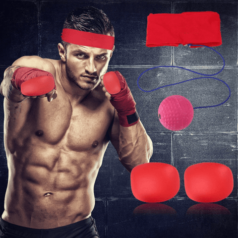 Box-A-Ball™ : Speed Striker Target Ball for Home Boxing Workout