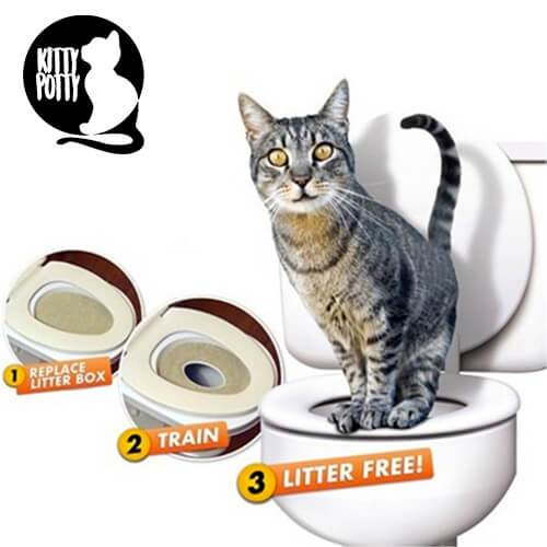 KittyPotty™ Cat Toilet Training Kit