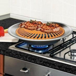 GastroGrill™ - Nonstick & Smokeless Titanium Grill Pan