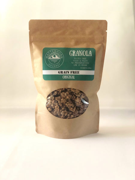 Grain Free Original Granola - Gluten Free and Vegan Granola