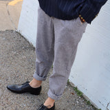 Mens Grey Draw String Pants