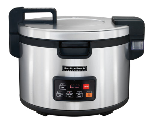 Hamilton Beach Commercial 37590 Stainless 90 Cup Rice Cooker/Warmer 240V/2500W