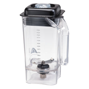 Hamilton Beach Commercial 6126-455 48oz / 1.4L BPA Free Copolyester Container for HBB255, HBH455, HBF510 (price per each individual unit)