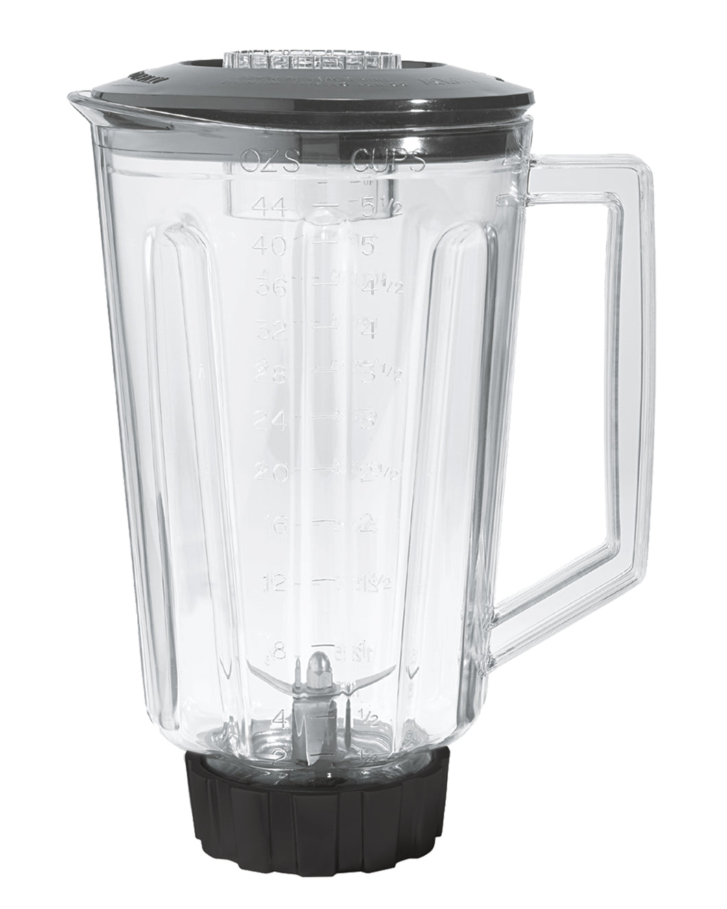 Hamilton Beach Commercial 6126-HBB908 44oz / 1.25L Polycarbonate Container for HBB908