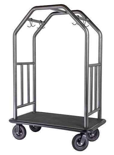 H1S Coastal Classic Cart Brushed Stainless Steel**