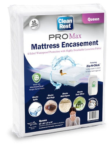 CleanRest® PRO MAX Mattress Encasement