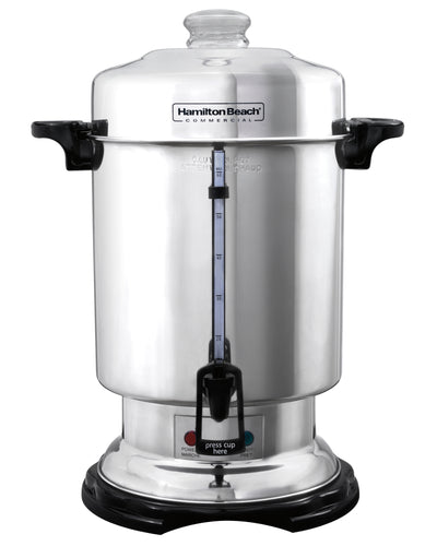 Hamilton Beach Commercial D50065 60 Cup Coffee Urn, Ready-to-Serve Light, Stainless Steel Exterior