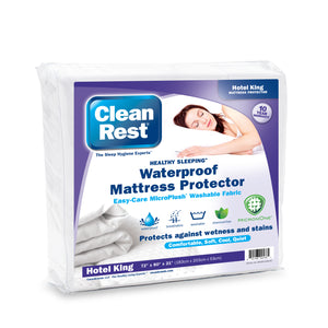 CleanRest® Fitted Mattress Cover