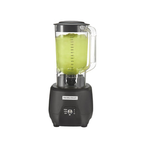 Hamilton Beach Commercial HBB908R 1 Peak HP, 2 Speeds, 44oz / 1.25L Polycarbonate Container