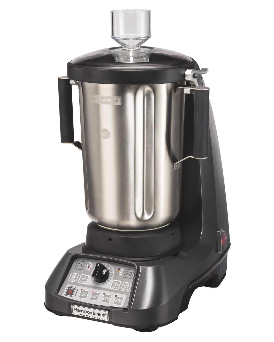 Hamilton Beach Commercial HBF1100S EXPEDITOR™3.5 HP, Variable Speed , Chop,Lid Interlock, 1 Gallon / 4L Stainless Steel Container