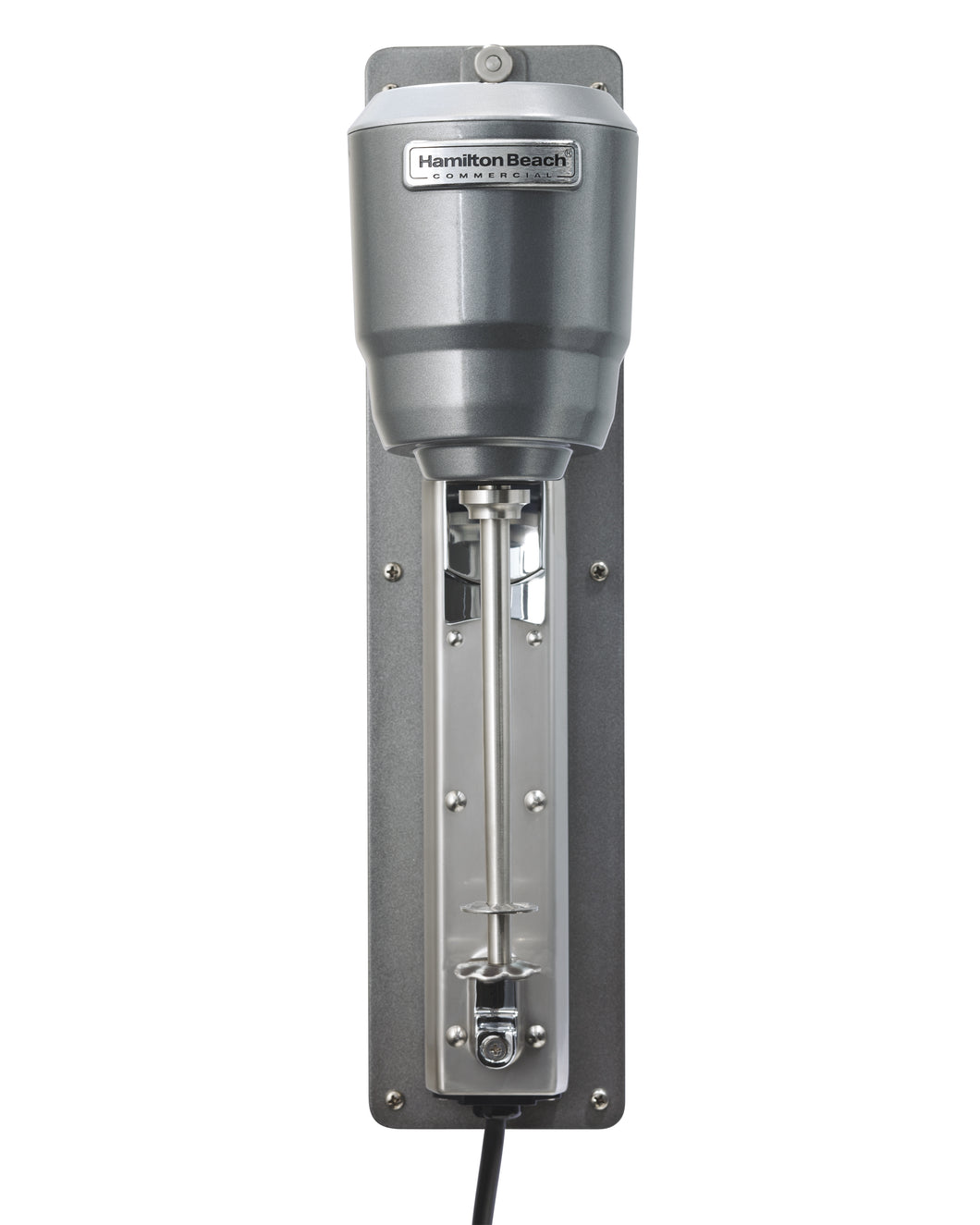 Hamilton Beach Commercial HMD300 Wall Mount Single Spindle Mixer, 1/3HP, 2 Speed, Pulse Switch, includes stainless steel cup