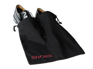 H1S Shoe Bag (black & red embroidery) (100 Bags Per Case)