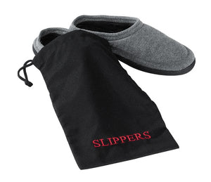 H1S Slipper Bag (black & red embroidery) (100 Bags Per Case)