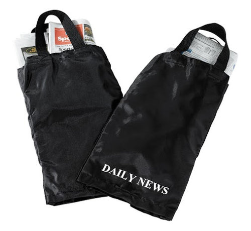 H1S Newspaper Bag (black & white