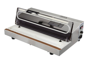 "Hamilton Beach Commercial HVS400R Vacuum Sealer, Suction, 16"" seal bar, dual piston pump with NSF"