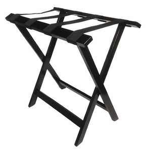 H1S Tall Wood Luggage Rack - Standard/Espresso (4 Racks Per Case)