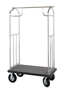 H1S Stainless Steel Bellman's Cart