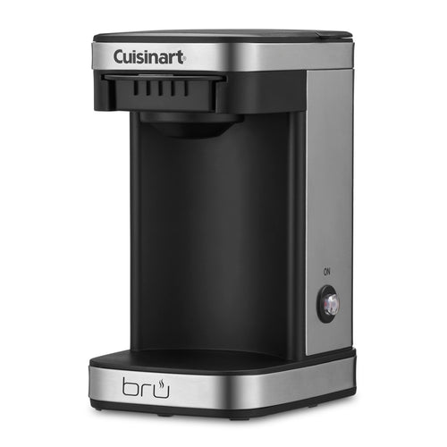 Cuisinart® W1CM5SX bru 1-Cup Coffee Maker, Stainless Steel - 6 Per Case