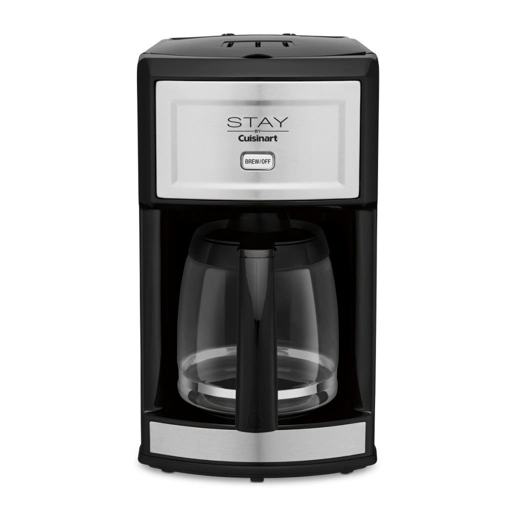 Cuisinart™ WCM280S 12-Cup Automatic Coffee Maker, Black/Stainless Steel - 2 Per Case