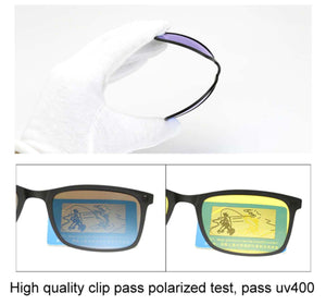 5 In 1 Magnetic Sunglasses (Polarized - 100% UV Protection)