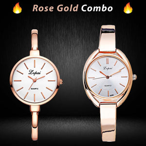 Excellent Rose Gold Combo (2 Watches)
