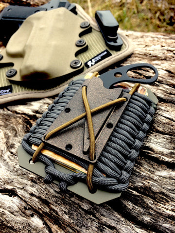 Last Ditch Paracord Wallet
