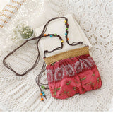 Beautiful Bohemian Animal Pattern Bucket Shape Shoulder Crossbody Handbag