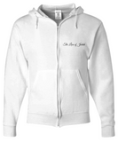 The Lion of Judah White Athletic Set - Hoodie and Tank Top - Bad Ass Shoes