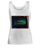 Game Changer Round Stainless Pendant Necklace in our Game Changer Custom Line