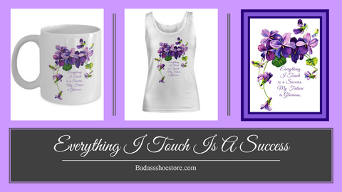 Everything I Touch Is A Success Women's Tank Top & 11 oz. Coffee Mug