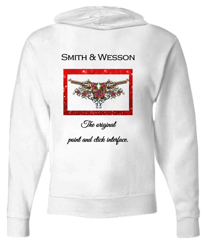 Smith & Wesson Hoodie and Matching Tank, Sizes S-XXL - Bad Ass Shoes