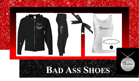 Bad Ass Athletic Set Plus Accessories SPECIAL BUY - Bad Ass Shoes