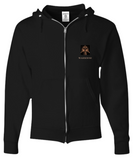 Our Custom Line Warrior Hoodie Set in Black and Bronze (2 piece set)