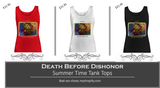 Death Before Dishonor Tank Tops White, Red, or Black - Bad Ass Shoes