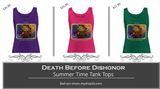 Death Before Dishonor Tanks, Your Choice $21.95 Each - Bad Ass Shoes