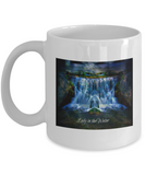 Lady In The Water 11 ounce Coffee Mug - Bad Ass Shoes